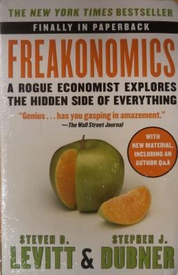 Freakonomics : A Rogue Economist Explores the Hidden Side of Everything price comparison at Flipkart, Amazon, Crossword, Uread, Bookadda, Landmark, Homeshop18