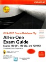 OCA/OCP Oracle Database 11g All-in-One Exam Guide with CD-ROM (Exams 1Z0-051, 1Z0-052, 1Z0-053) (English) 1st Edition: Book