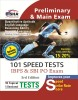 101 Speed Tests for IBPS & SBI Bank PO Exam 3rd Edition (English) 3 Edition