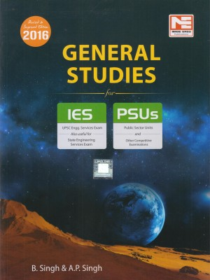 General Studies for IES and PSUs 2016 (English) 10 Edition price comparison at Flipkart, Amazon, Crossword, Uread, Bookadda, Landmark, Homeshop18
