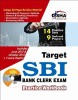 Target SBI Clerk Exam - Practice Workbook (With CD) : 9 Solved Papers, 14 Practice Sets 3rd Edition