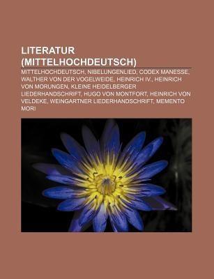 Walther von der Vogelweide literatur