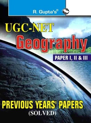 Buy UGC-NET Geography Previous Papers (Solved) 1st Edition: Book