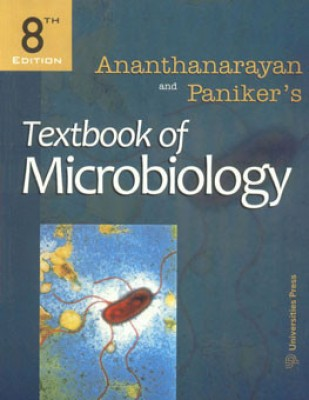 Buy Ananthanarayan and Paniker's Textbook of Microbiology 8th Edition: Book