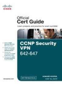 CCNP Security VPN 642-647 Official Cert Guide (With CD) (Paperback)
