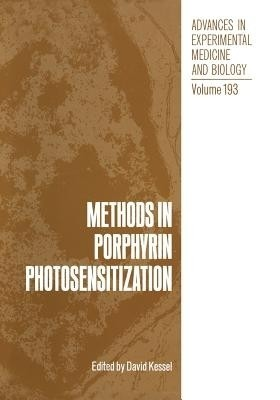 Methods in Porphyrin Photosensitization price comparison at Flipkart, Amazon, Crossword, Uread, Bookadda, Landmark, Homeshop18
