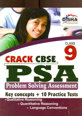 Buy Crack CBSE PSA Problem Solving Assessment: Key Concept + 10 Practice Papers (Class - 9): Book