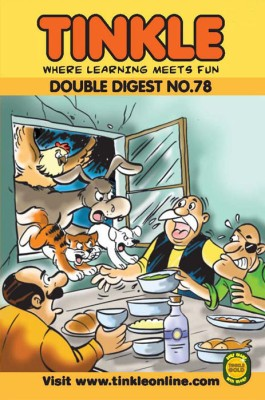 Tinkle Double Digest No. 78 price comparison at Flipkart, Amazon, Crossword, Uread, Bookadda, Landmark, Homeshop18