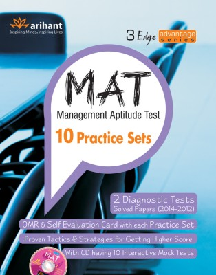 MAT - Management Aptitude Test : 10 Practice Sets (English) 2nd  Edition price comparison at Flipkart, Amazon, Crossword, Uread, Bookadda, Landmark, Homeshop18