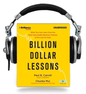 Buy Billion Dollar Lessons (Audiobook): Book