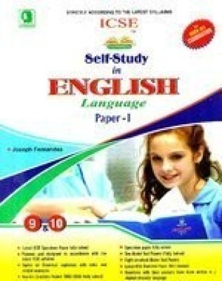 Buy ICSE Self-Study In English Language For Class 9 -10 (Paper - I): Book