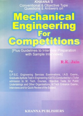 Buy Mechanical Engineering For Competitions: Book