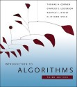 Introduction to Algorithms 3rd Edition: Book