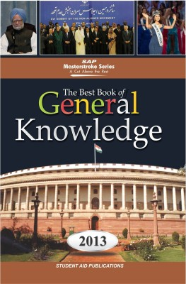 Buy The Best Book of General Knowledge 2013 (English): Book