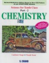 Chemistry Science For Class - X (Part -2) 1st Edition: Book