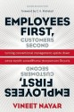Employees First, Customers Second: Turning Conventional Management Upside Down (English): Book