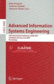 Advanced Information Systems Engineering - (English) (Soft Cover)
