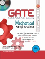 GATE 2015 - Mechanical Engineering (With DVD) (English) 12th Edition: Book