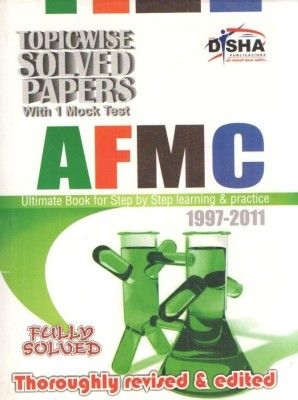 Buy AFMC Topic-wise Solved Papers 4th Edition: Book