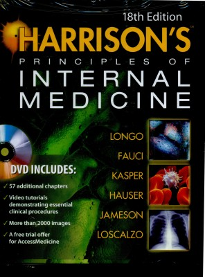 Buy Harrison's Principles of Internal Medicine (Set of 2 Volumes) 18th Edition: Book