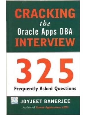 Cracking The Oracle Apps Dba Interview 1st  Edition price comparison at Flipkart, Amazon, Crossword, Uread, Bookadda, Landmark, Homeshop18