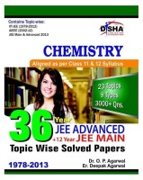 36 Year JEE Advanced Plus 12 Year JEE Main : Chemistry - Topic Wise Solved Papers: Book