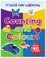 COUNTING AND COLOURS - 9781405496902 (English): Book