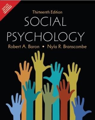 Social Psychology (English) 13th  Edition price comparison at Flipkart, Amazon, Crossword, Uread, Bookadda, Landmark, Homeshop18