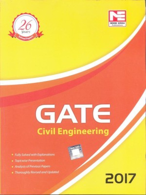 GATE-2017: Civil Engineering Solved Papers (English) Contributor (English) price comparison at Flipkart, Amazon, Crossword, Uread, Bookadda, Landmark, Homeshop18