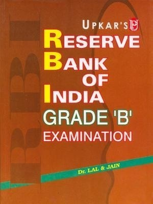 Buy Reserve Bank of India Grade 'B' Examination 1st Edition: Book