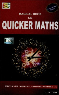 Buy Magical Book On Quicker Maths 3rd Edition: Book