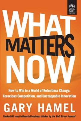 Buy What Matters Now: Book