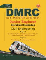DMRC - Junior Engineer Recruitment Examination (Civil Engineering) : Includes Solved Paper - 2013 (English) 9th Edition: Book