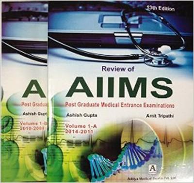 Review of Aiims Post Graduate Medical Ent Exm Vol-1 A-B 2010-2008 : Review of Aiims vol A-B 2014-2011 (English) price comparison at Flipkart, Amazon, Crossword, Uread, Bookadda, Landmark, Homeshop18