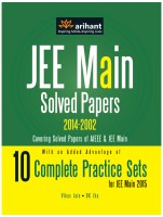 JEE Main Solved Papers (AIEEE & JEE Main 2014-2002) with 10 Complete Practice Sets : 10 Complete Practice Sets for JEE Main 2015 (English) 7th  Edition: Book