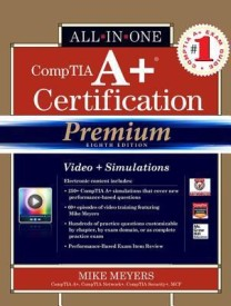 Comptia A+ Certification All-In-One Exam Guide, Premium 8th Edition (Exams 220-801 & 220-802) (Hardcover)