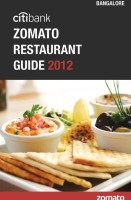 Citibank Zomato Restaurant Guide 2012: Bangalore: Book