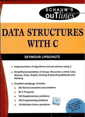 Buy Data Structures With C (sie) (schaums Outlin 1st  Edition: Book