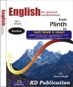 English for General Competitions from Plinth to Paramount Vol-1 2nd Edition: Book