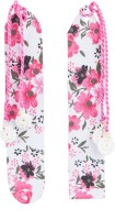 SG BOOKMARKS FLOWER PRINT MOUNT BOARD Bookmark (FLOWER PRINT, MULTI-COLOUR)