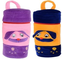 CHHOTE JANAB BABY BOTTLE COVER (SET OF 2) (Multicolor)