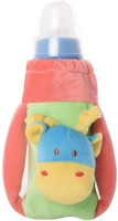 Baby Bucket Feeding Bottle Covers Pink & Green (Pink)