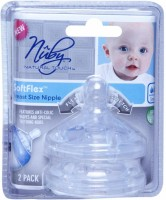 Nuby Natural Touch Breast Size Nipple Slow Flow Nipple (Pack Of 2 Nipples)