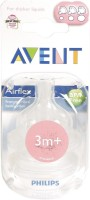 Avent Philips Bpa Free Classic Variable Flow Medium Flow Nipple (Pack Of 2 Nipples)