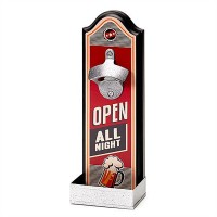 Inventure Retail BO Open All Night Wall Mount Bottle Opener (Pack Of 1)