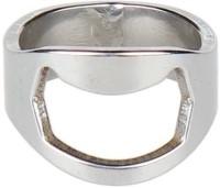 Pack N Buy Set Of 2 Stainless Steel Finger Ring Bottle Opener