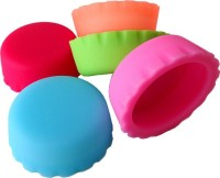 Cool Trends Plastic Caps Silicone Bottle Stopper (Multicolor)