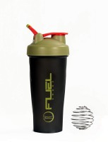 Fuel Shaker Easy Grip 600 Ml Sipper, Shaker, Bottle (Pack Of 1, Black & Golden)