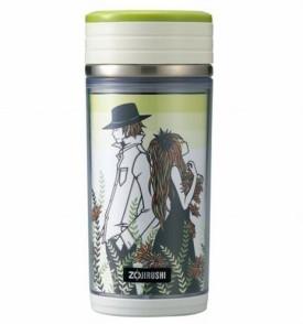 Zojirushi Vacuum Bottle-Zr-Smba-35-Ga/.35l/Green 0.35 L Flask