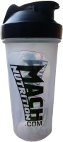 Mach Nutrition PP5 1 L Shaker (Pack Of 1, Green, White, Red, Transparent)